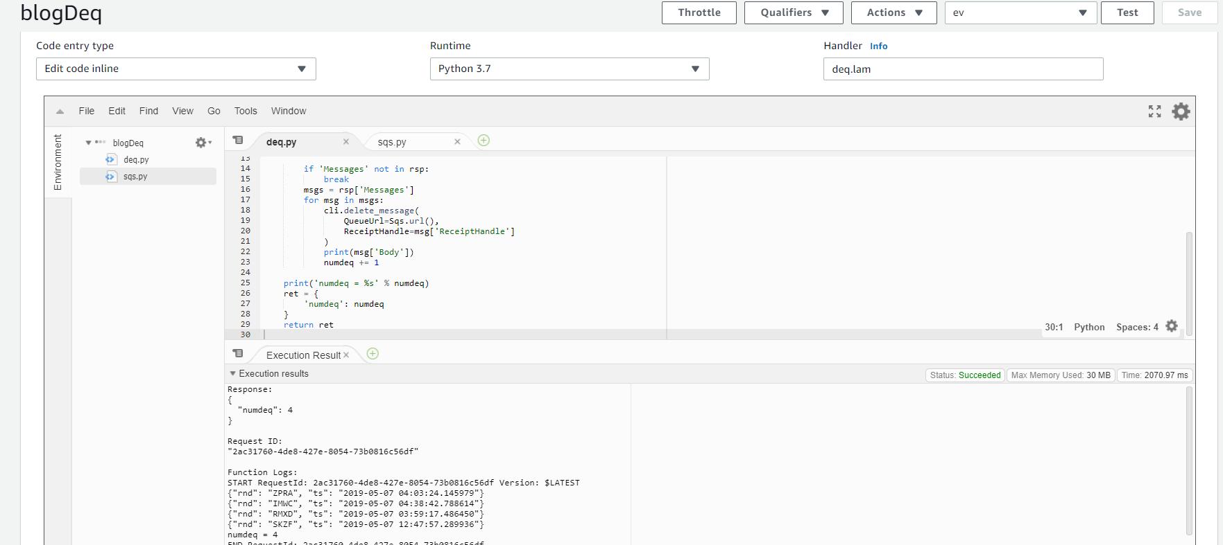 AWS Simple Queue Service implementation | ExaGridDba